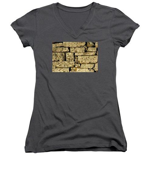 Women's V-Neck T-Shirt featuring the photograph Weathered by Kennerth and Birgitta Kullman
