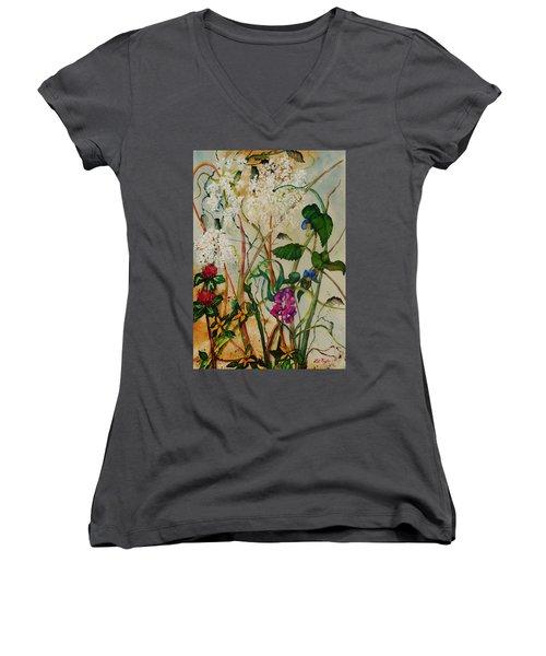 Weeds Women's V-Neck T-Shirt