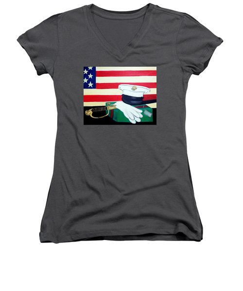 Welcome Home Women's V-Neck (Athletic Fit)