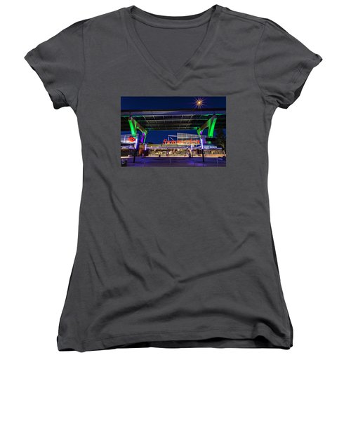 Welcome To The Fest Women's V-Neck (Athletic Fit)