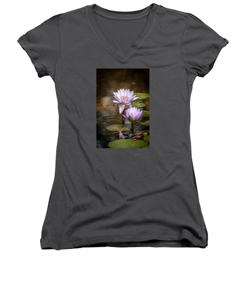 We'll Make It Last Forever Women's V-Neck T-Shirt (Junior Cut) by Wade Brooks