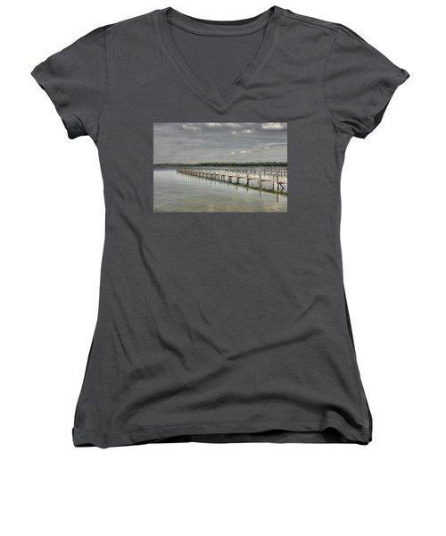 West Lake Docks Women's V-Neck