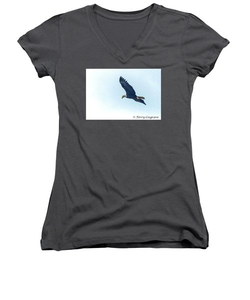 West Point American Eagle. Women's V-Neck T-Shirt