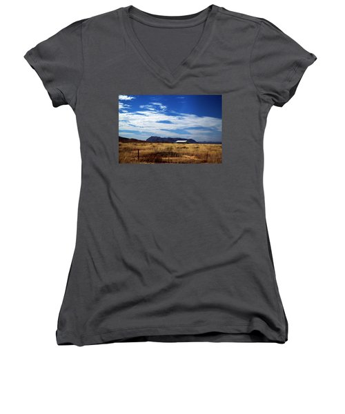 West Texas #1 Women's V-Neck