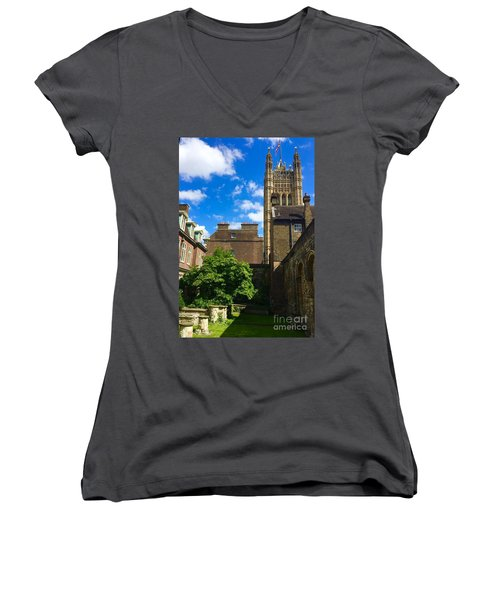Westminster Abby Garden Women's V-Neck