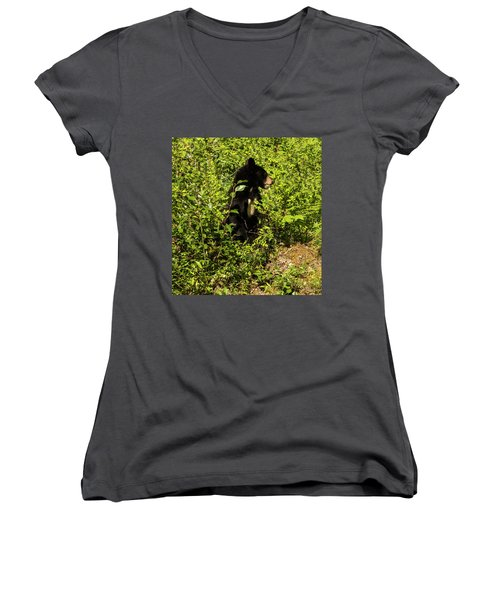 Where Are The Berries? Women's V-Neck (Athletic Fit)