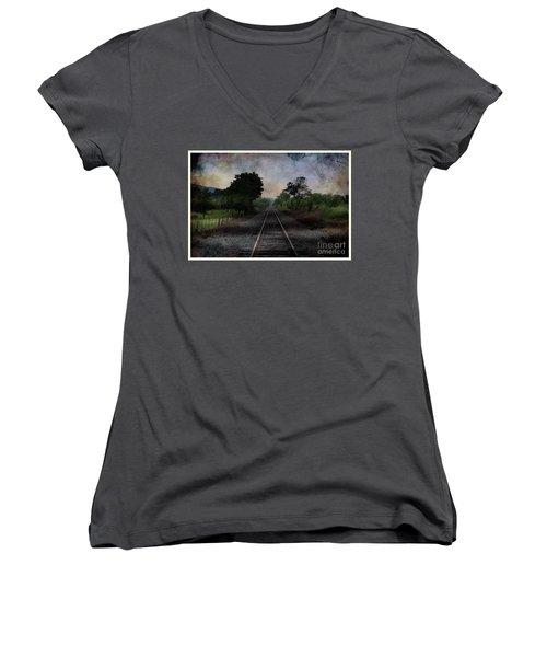 Where To Next Women's V-Neck T-Shirt