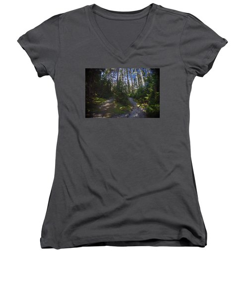 Which Path? Women's V-Neck