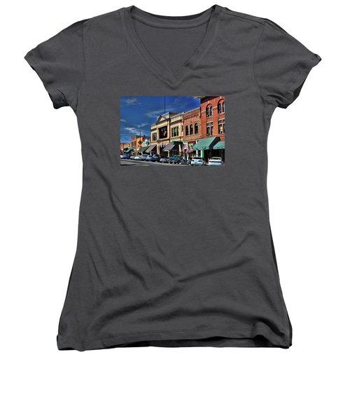 Whiskey Row - Prescott  Women's V-Neck