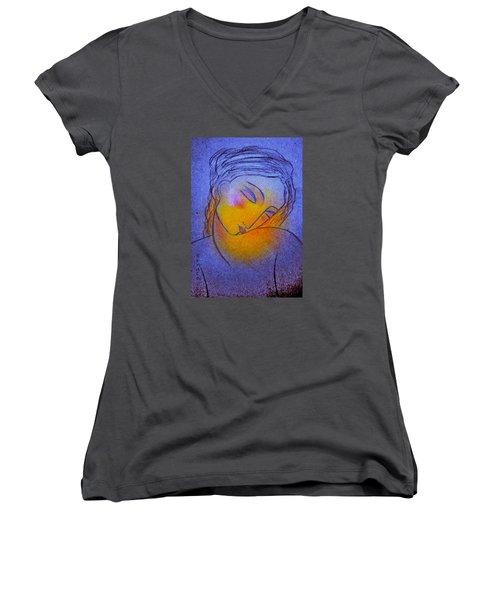 Whispering Hope..... Women's V-Neck T-Shirt