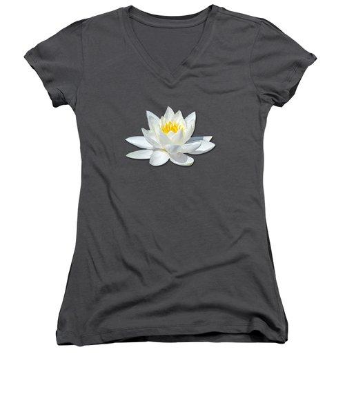 White Lily 2 Women's V-Neck
