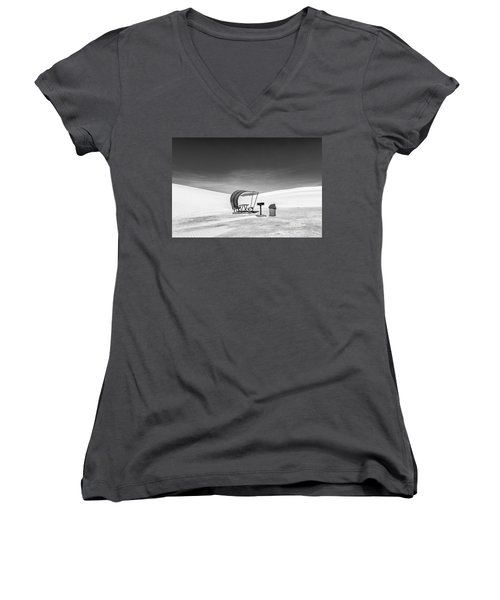 White Sands National Monument #8 Women's V-Neck