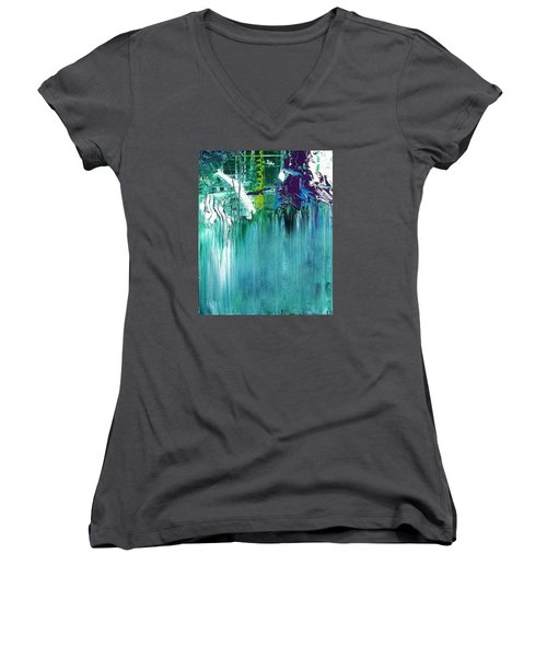 Whoosh Women's V-Neck (Athletic Fit)