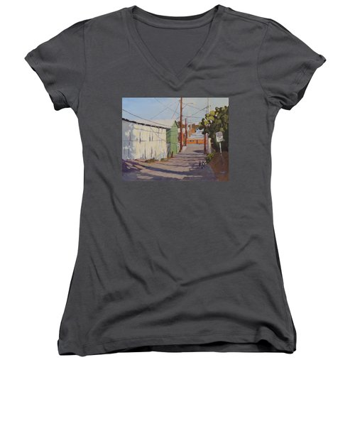 Wickenburg Alley Cats Women's V-Neck T-Shirt