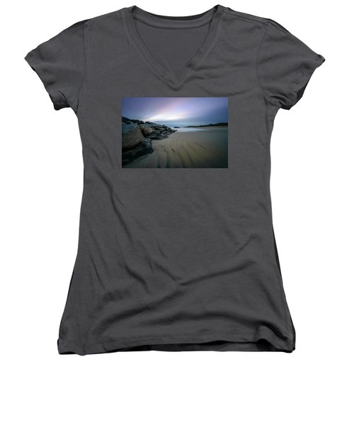 Wide Open Women's V-Neck