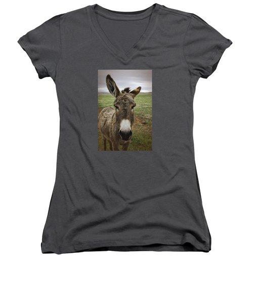 Wild Burro Women's V-Neck T-Shirt