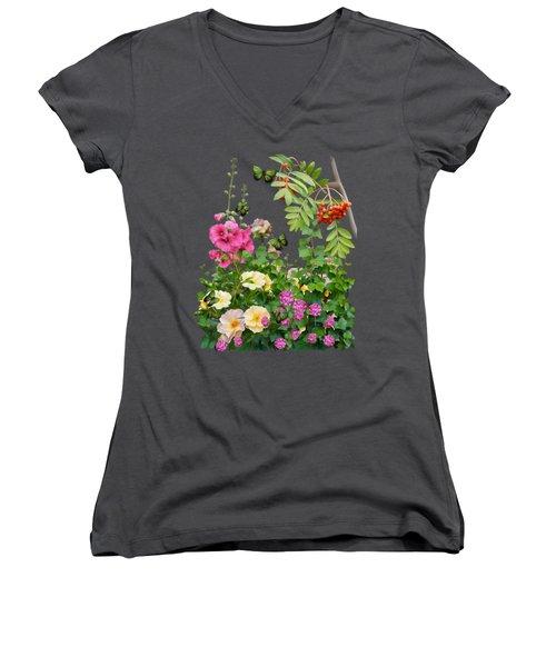 Wild Garden Women's V-Neck
