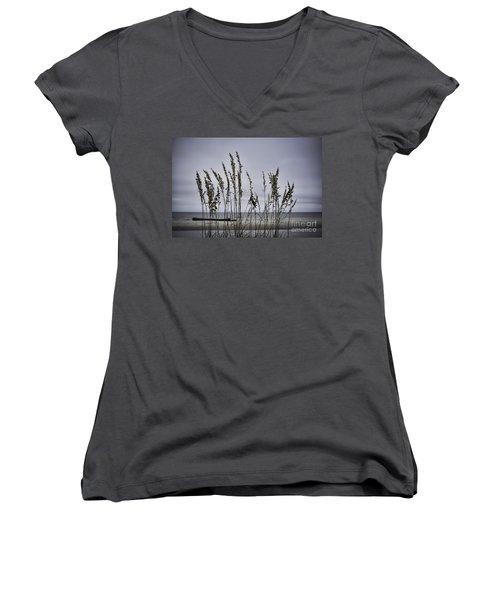 Wild Grasses Women's V-Neck T-Shirt
