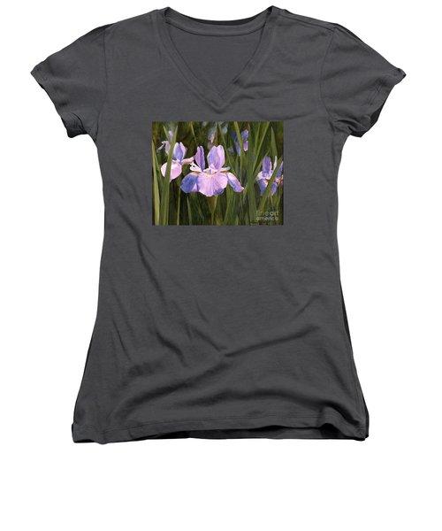 Wild Iris Women's V-Neck