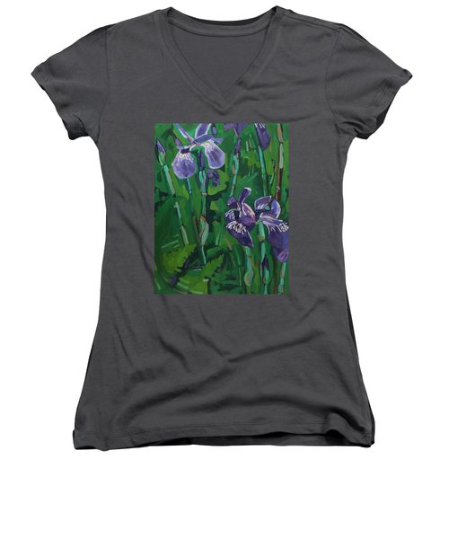 Wild Iris Women's V-Neck (Athletic Fit)