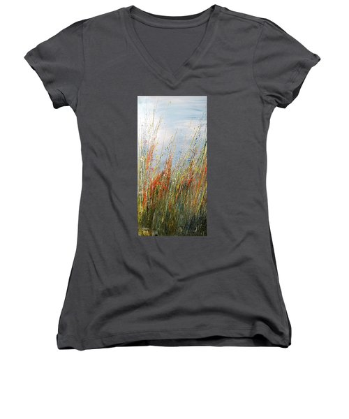 Wild N Hay Women's V-Neck T-Shirt