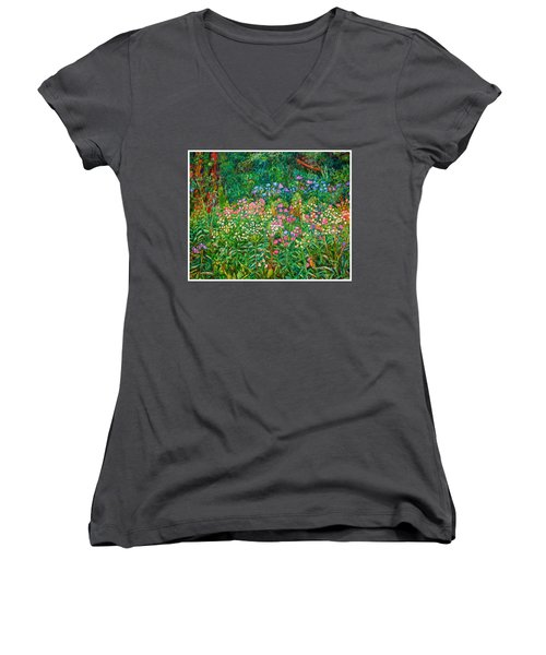 Wildflowers Near Fancy Gap Women's V-Neck