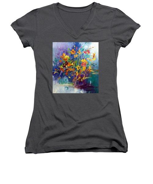 Wildflowers Women's V-Neck T-Shirt