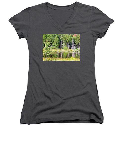 Wildness Women's V-Neck (Athletic Fit)
