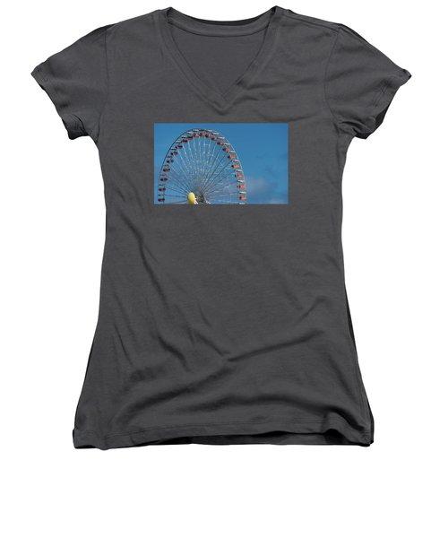 Wildwood Ferris Wheel Women's V-Neck