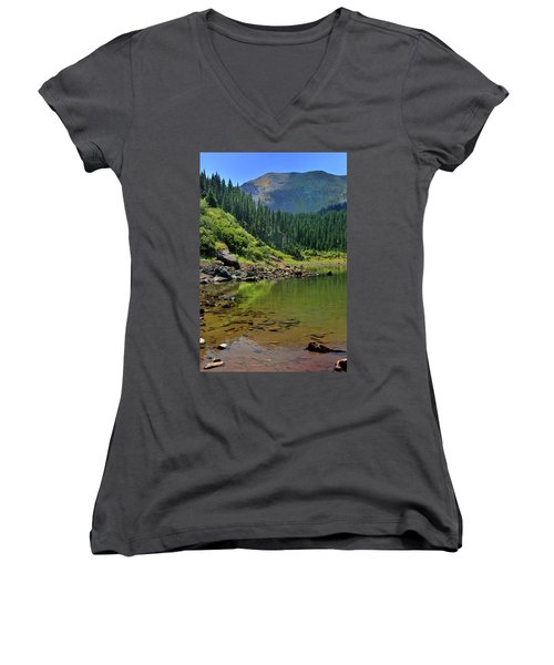 Williams Lake Women's V-Neck (Athletic Fit)