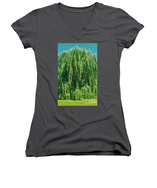 Willow Weep For Me Women's V-Neck (Athletic Fit)