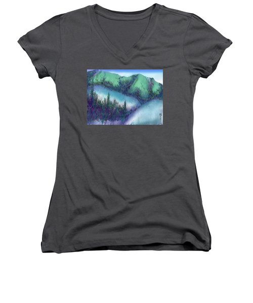 Wilmore Wilderness Area Women's V-Neck (Athletic Fit)