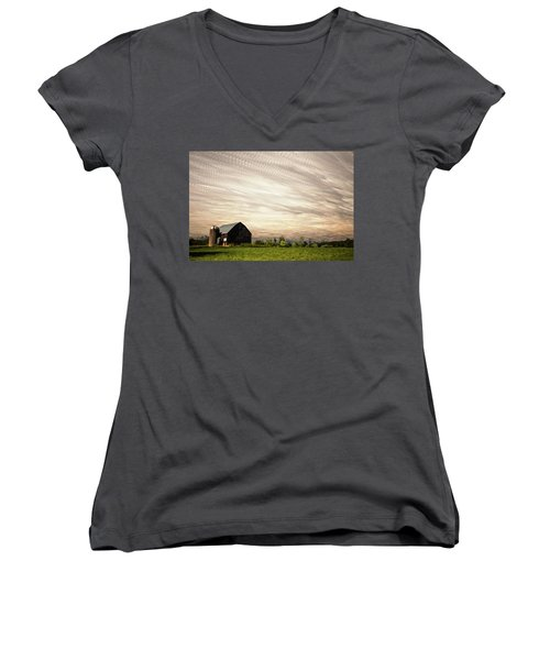 Wind Farm Women's V-Neck T-Shirt