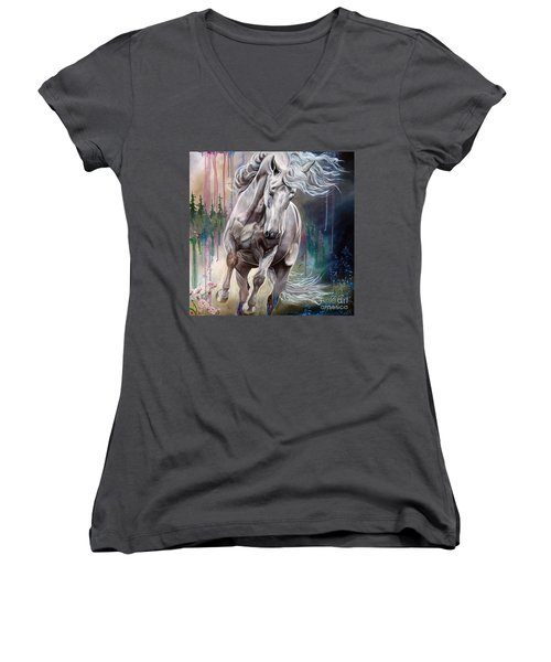 Wind Swept Women's V-Neck (Athletic Fit)