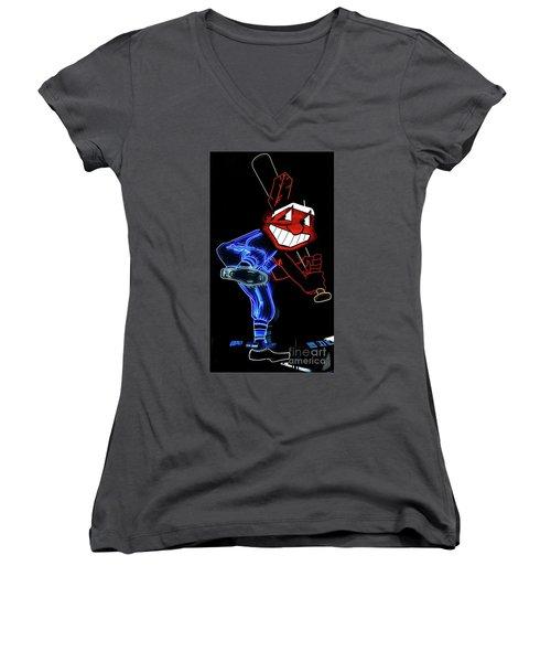 Windians Women's V-Neck T-Shirt (Junior Cut) by David Bearden