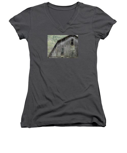 Windows Of The Past Women's V-Neck (Athletic Fit)