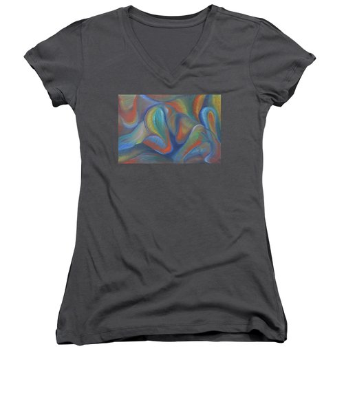 Winds Of Change Prevail Women's V-Neck (Athletic Fit)