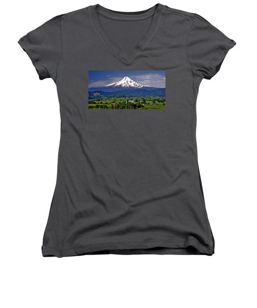 Wine Country Women's V-Neck T-Shirt
