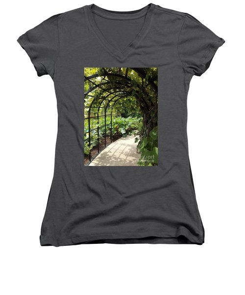 Wine Walk Women's V-Neck T-Shirt