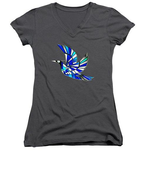 Wings Women's V-Neck T-Shirt