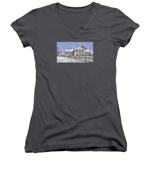 Winter Barn 3 Women's V-Neck