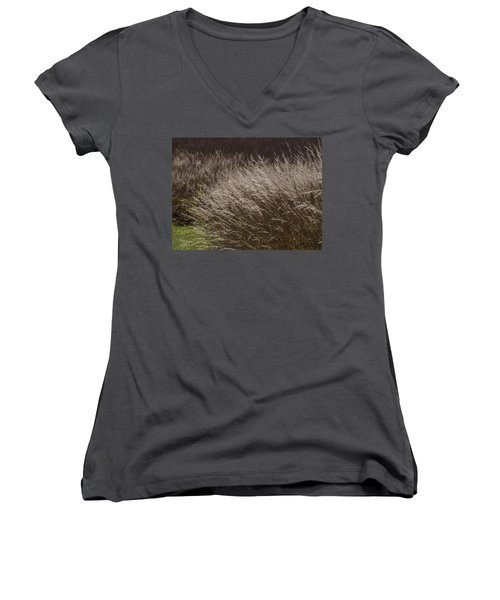 Winter Grass Women's V-Neck