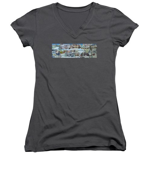 Winter Repose - Sold Women's V-Neck (Athletic Fit)