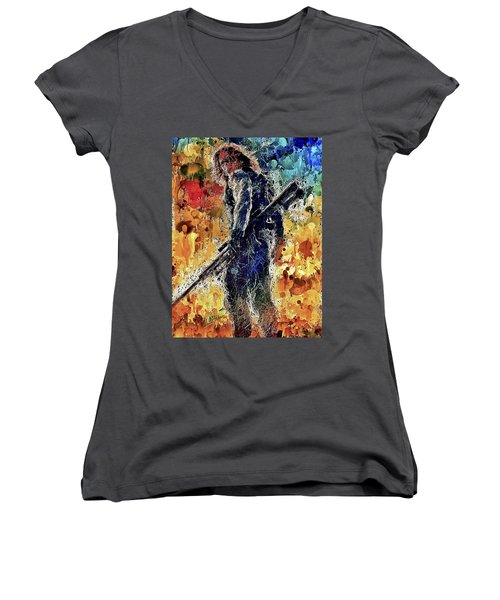 Winter Soldier Women's V-Neck