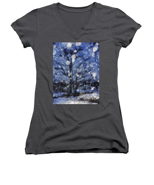 Winter Storm Women's V-Neck