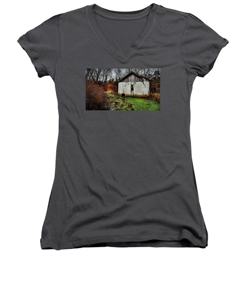 Winter Stream Women's V-Neck
