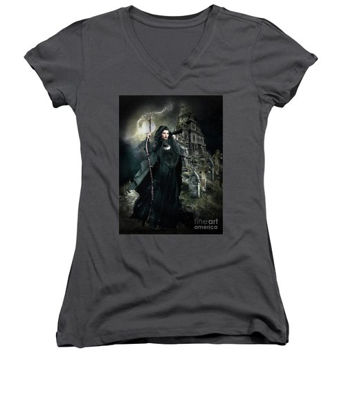 Witch Hunt Women's V-Neck (Athletic Fit)