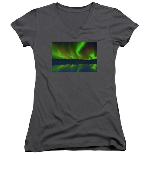 Witchy Woman Women's V-Neck (Athletic Fit)