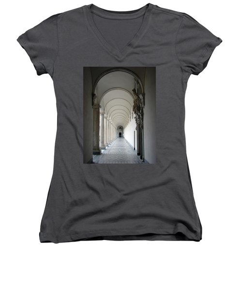 Within The Castle Walls Women's V-Neck T-Shirt