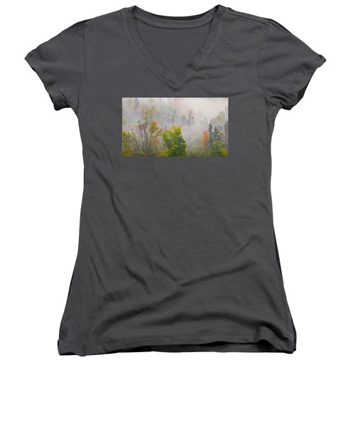 Woods From Afar Women's V-Neck